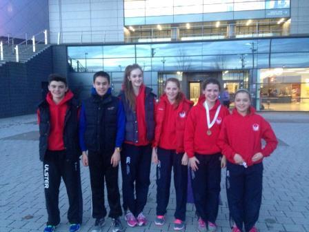 Athletes D2 Scottish indoors